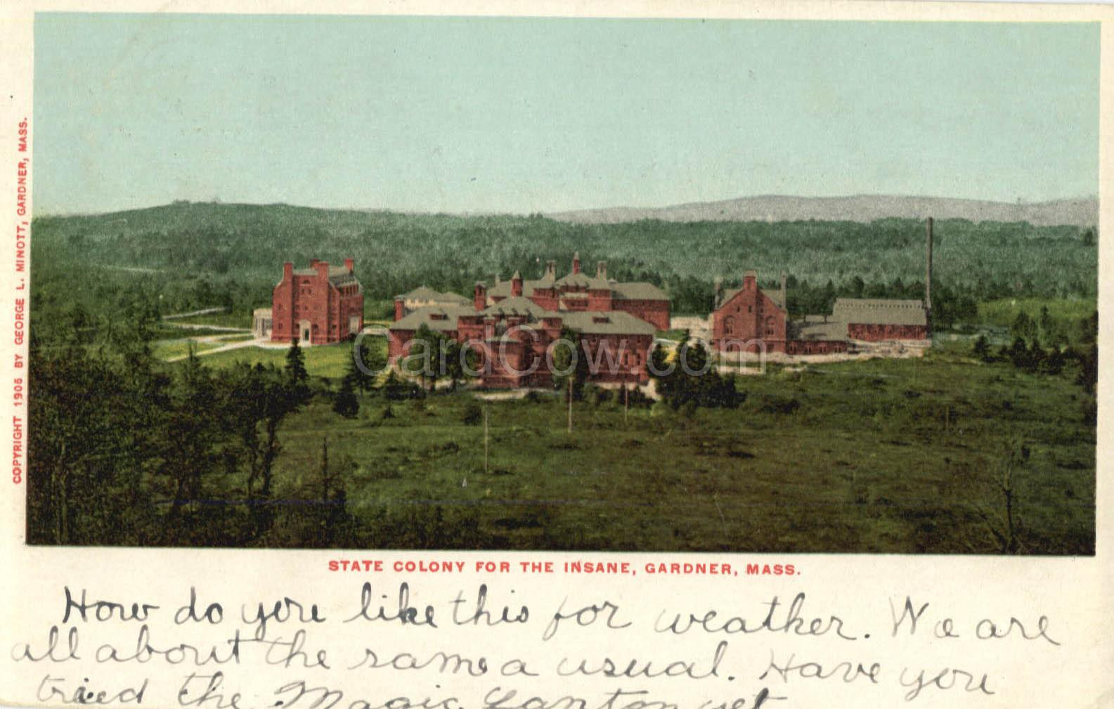 File:State Colony for the Insane - Gardner, MA.jpg - Asylum Projects