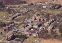 The grounds of Wernersville State Hospital.
